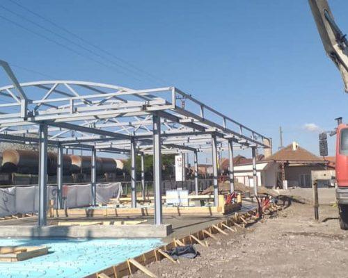 Turnare beton fundatie Boholt, Hunedoara